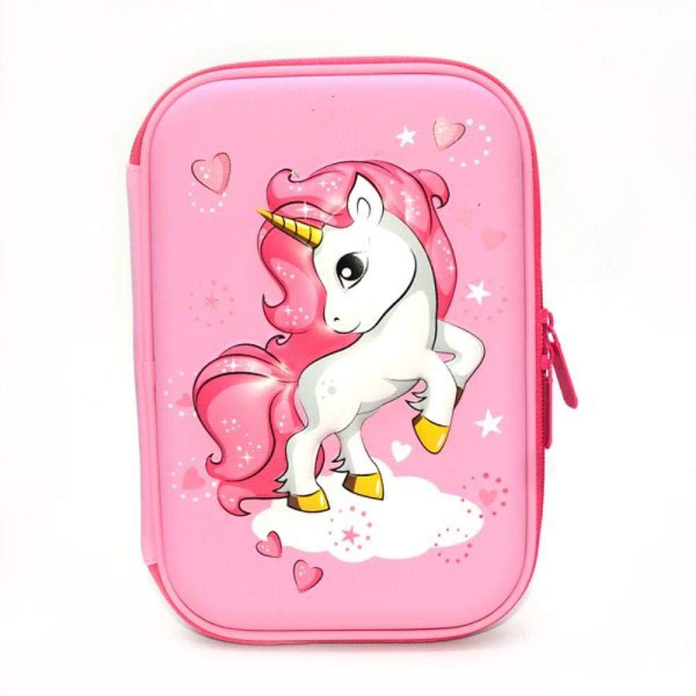 Estuche para lápices de unicornio, para tarta, kalem, kutusu, kawaii, material de astuccio scuola, color K: Amazon.es: Oficina y papelería