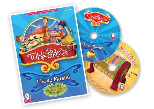 The Tuneables: I Love Music! 2-Disk Set DVD/CD