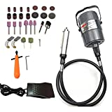 Go2Home Flex Shaft Grinder Carver Rotary Tool Hanging Electric Grinding Machine, Multi-Function Tools, Foot...