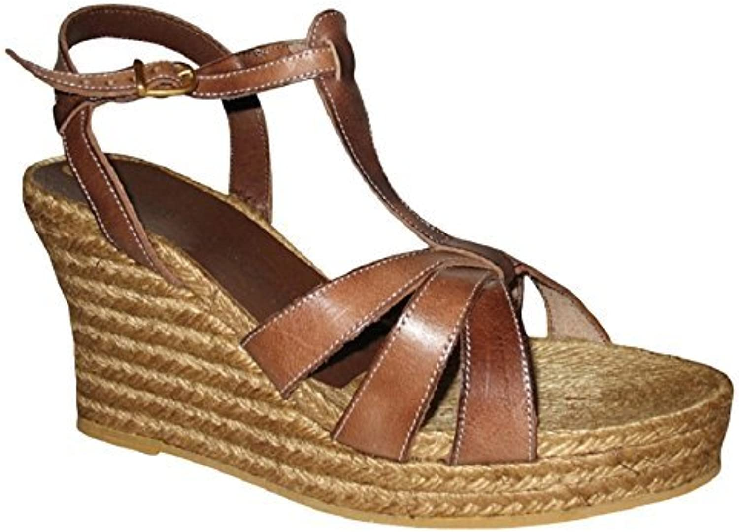 Andre Assous Women's Wedge Platform Espadrille Sandals shoes 11 B(M) US