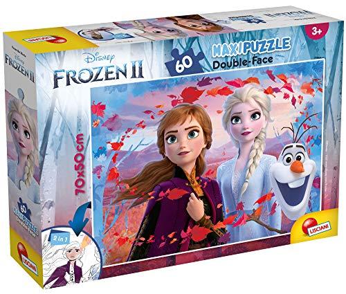 puzzle frozen 5 anni Lisciani Giochi DF Disney Puzzle Supermaxi 60