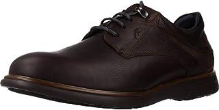 Fluchos | Zapato de Hombre | Thunder F0335 Grass Brandy | Zapato de Piel de Vacuno engrasada de Primera Calidad | Cierre c...