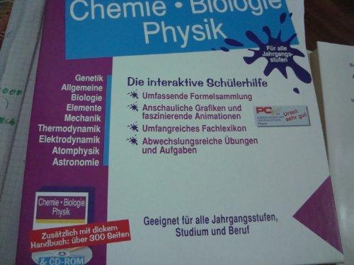 Lernpaket Chemie-Biologie-Physik für alle Jahrgangsstufen mit Handbuch und CD Sonderausgabe