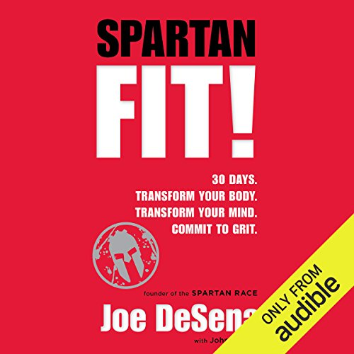 Spartan Fit! audiobook cover art