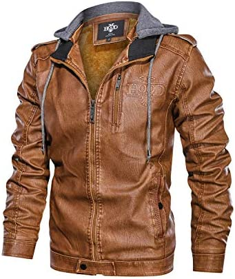 Brown Soft Leather Crew Jacket  Crew Jacket  Outwear for Crew  Natural Leather Coat