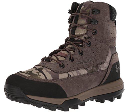 Under Armour Men's SF Bozeman 2.0 600g Ankle Boot, Ridge Reaper Camo Ba (900)/Maverick Brown, 8 M US