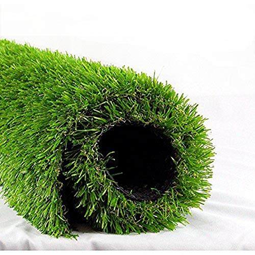 ALTRUISTIC Premium Artificial Grasss Drainage Holes & Rubber Backing 70 oz Realistic Synthetic Grass Mat Extra-Heavy & Soft Pet Turf Fake Grass for Dogs or Outdoor Decor,(4 ft x7 ft = 28 Square ft)