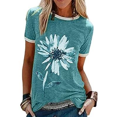 Sommer Damen Kurzarm T-Shirt