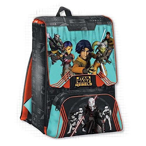 Star Wars Rebels - Zaino estensibile con gadget - scuola 2016-2017