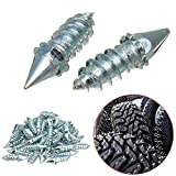 50PCS Anti-Slip Snow Screw Stud, Car Off-Road Screw Tire Nail Anti-Slip Wheel Snow Anti Skid Ice Stud Tyre Spike(L=27mm)