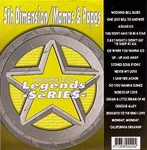 5th Dimension, Mamas & Papas Karaoke Disc - Legends Series CDG