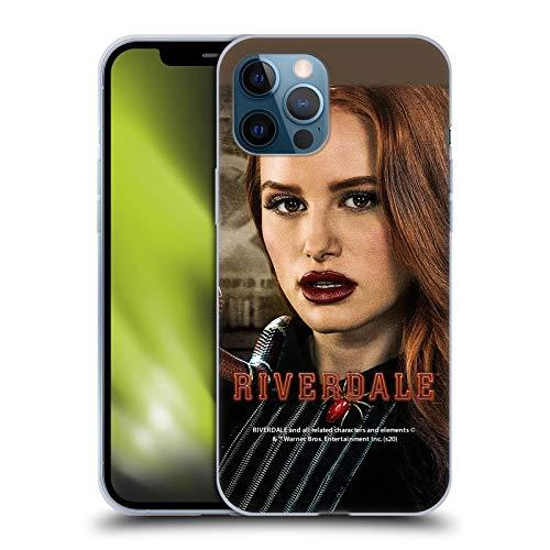 Head Case Designs Licenciado Oficialmente Riverdale Cheryl Blossom 1 Gráficos 2 Carcasa de Gel de Silicona Compatible con Apple iPhone 12 Pro MAX