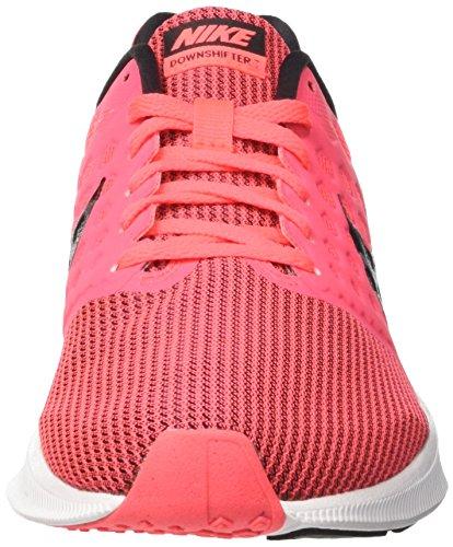 Nike Wmns Downshifter 7, Zapatillas Mujer, Rosa (Hot Punch/Black/White), 42 EU