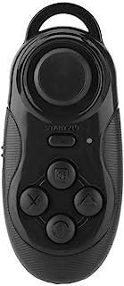 ワイヤレスゲームパッドBluetoothリモートコントローラーSelfieカメラシャッターワイヤレスマウスゲームパッド3D VRメガネリモートコントロールIphone Android PC TVボックス(ブラック)
