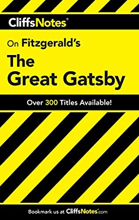 CliffsNotes on Fitzgerald's The Great Gatsby (Cliffsnotes Literature Guides)