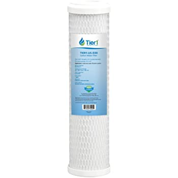 Amazon Com Clear Choice Sediment Water Filter 0 5 Micron 10 X X 2 Water Filter Cartridge Replacement 10 Inch Ro System Cg53 10 Dev910853 Dev910853 155162 43 Cbc 10 1 Pk Home Kitchen