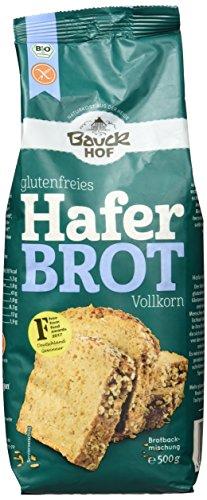 Bauckhof Bio Haferbrot glutenfrei, 3er Pack (3 x 500 g)