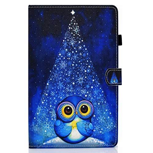 Funda para Samsung Galaxy Tab S7 11'' 2020 Carcasa SM-T870 /T875 Ligero PU Cuero Flip Protector de Cartera Cubierta con Función de Soporte y Bolsa de Tarjetas, para Galaxy Tab S7 11 Pulgada