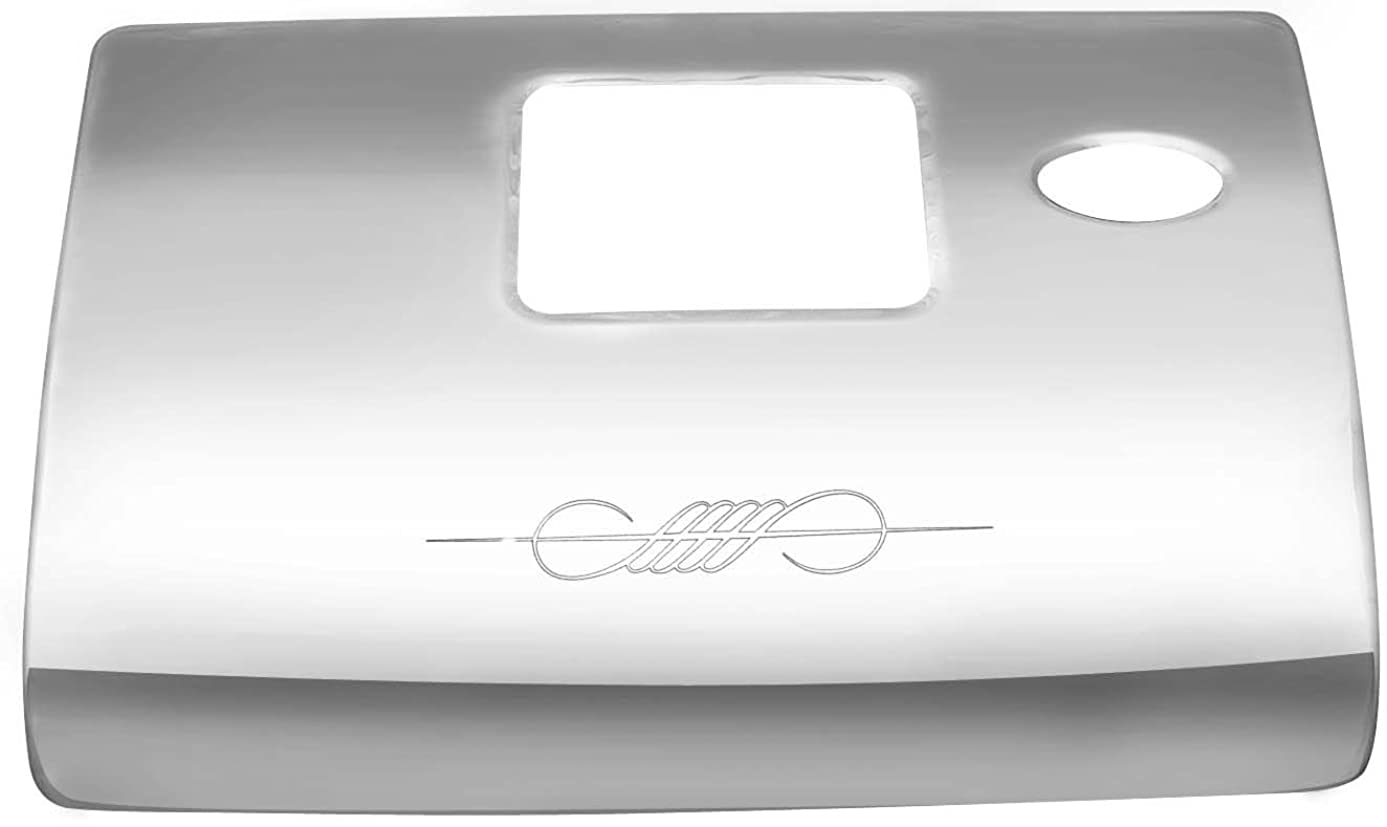 Kaper II WP-PS77 Stainless Steel Glove Box Cover (Engraved, Ergonomic Dash American Class)