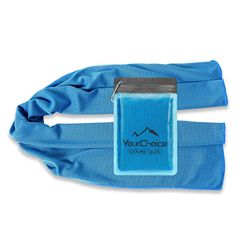 Our #6 Pick is the Your Choice Instant Relief Cooling Towel