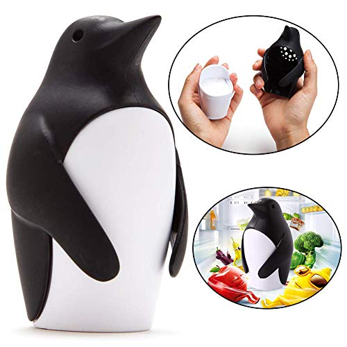 BESLIME Mikrowellenreiniger Angry Mama-Dampfreiniger Schneller Dampfreiniger für Mikrowelle,Pinguin,1pcs