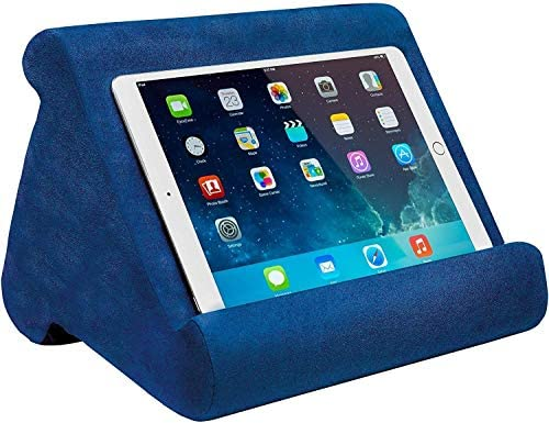 Ontel Pillow Pad Multi Angle Soft Tablet Stand Blue product image