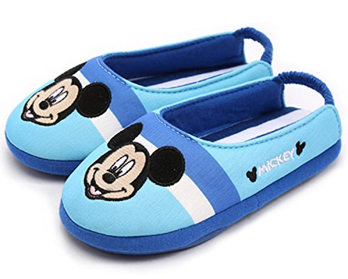 Disney Mickey Mouse Boys Girls Slippers Clog Mule Indoor Shoes (Parallel Import/Generic Product) (1 M US Little Kid)