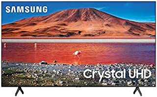 Samsung 55-inch Class Crystal UHD TU-7000 Series - 4K UHD HDR Smart TV with Alexa Built-in (UN55TU7000UXUM, 2020 Model)