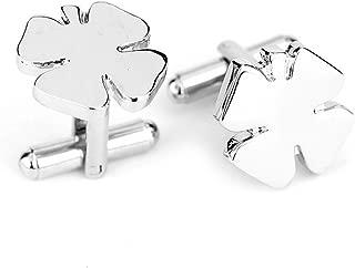 Bullidea 1 Pair Fashion Quality Silver Men And Women Cufflinks Dress Business Wedding Cufflinks Gift Present