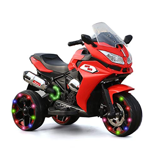 TAMCO Children Battery Motor Bikes Rechargeable 3 Wheels Ride on Kids Electric Motorcycle with Light Wheels