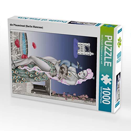 CALVENDO Puzzle die Pfaueninsel (Berlin-Wannsee) 1000 Teile Lege-Größe 48 x 64 cm Foto-Puzzle Bild von Sara Horwath