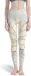 Oldlace Mandala Soft Lightweight Fabric Sports Gym Running Pants - Tights Yoga Skinny Leggings Flower