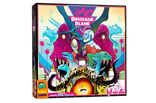 Pandasaurus Games Dinosaur Island - English