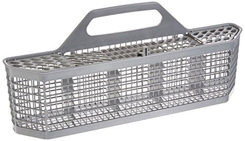 GE WD28X10128 Genuine OEM Silverware Basket (Grey) for GE Dishwashers