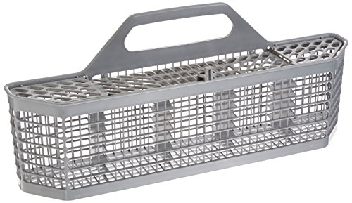 GE WD28X10128 Genuine OEM Silverware Basket (Grey) for GE Dishwashers