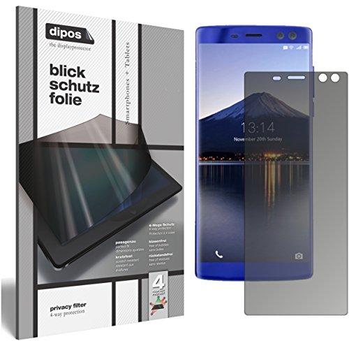 dipos I Blickschutzfolie matt kompatibel mit Doogee BL12000 Sichtschutz-Folie Bildschirm-Schutzfolie Privacy-Filter