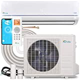 Senville SENA-24HF/Z Mini Split Air Conditioner Energy Star Cold-Climate Heat Pump 20.5 SEER, 24000 BTU, White