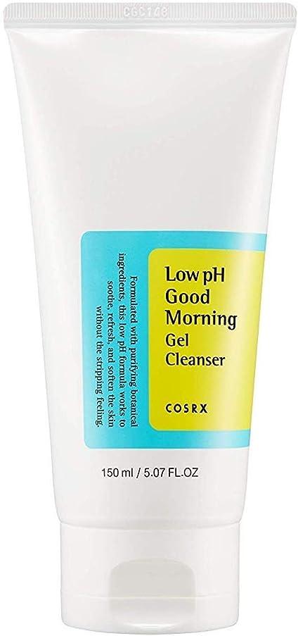 決定原始的なピクニックCOSRX 弱酸性 グッドモーニング ジェルクレンザー / 敏感肌用 クレンジングジェル / Low PH Good Morning Gel Cleanser (150ml)