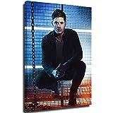 Ghychk S-upernatural TV Series Dean Winchester Poster Decoración de pared Pintura impermeable Pósters Cuadros para Salón Moderno Decoración de Pared del Hogar Enmarcado Listo para Colgar 24' x 36'