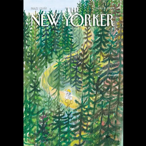 The New Yorker, August 2nd 2010 (Atul Gawande, Keith Gessen, Teddy Wayne) cover art