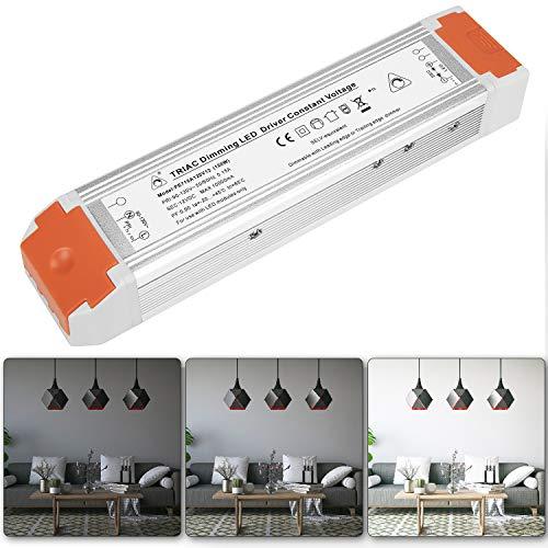 Dimmable LED Driver 12V 120 Watts Dimming LED Power Supply 110V to 12V DC Transformer