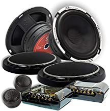 CT Sounds Full Range Component Car Speakers (Meso 2-Way 6.5 Inch)