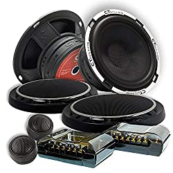CT Sounds Meso 5x7 Inch 2-Way Silk Dome Coaxial Car Audio Coax Speakers