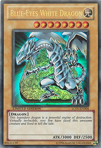 Yu-Gi-Oh! - Blue-Eyes White Dragon (LC01-EN004) - Legendary Collection - Limi...