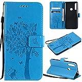 Zchen Coque Huawei P Smart Z, Coque Honor 9X, Etui Pochette PU Cuir Portefeuille Housse Clapet Folio...
