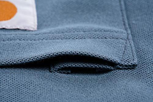 Carhartt Herren Hemd, XS, stahlblau, 1