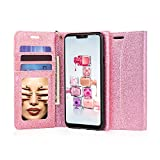J&D Case Compatible for LG G7 Case, [Glittering] [RFID Blocking]...