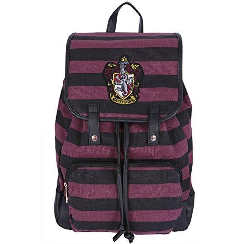 La mochila negra y burdeos HARRY POTTER Gryffindor 14