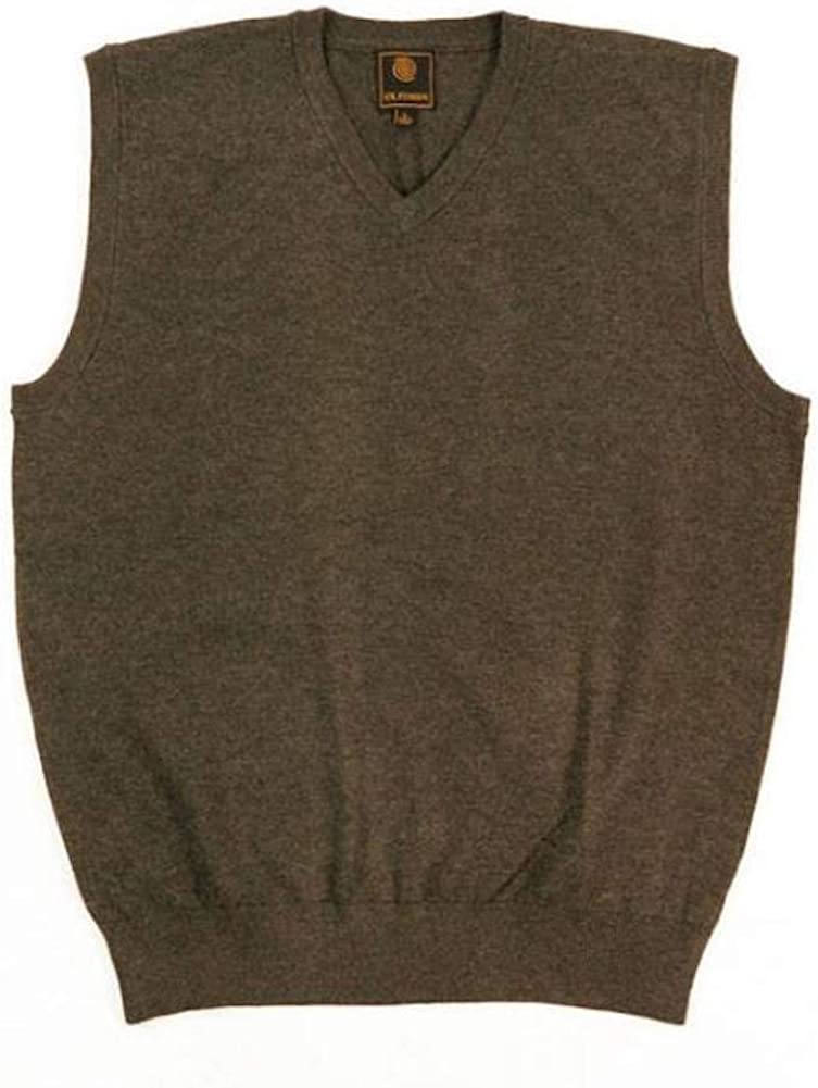 F/X Fusion Big and Tall Sweater Vest Acrylic Blend