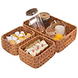 GRANNY SAYS Wicker Baskets for Organizing, Set of 3...